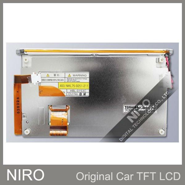 Ниро DHL автомобильный навигатор ЖК-экран TFD65W40D ЖК-панель для авто части