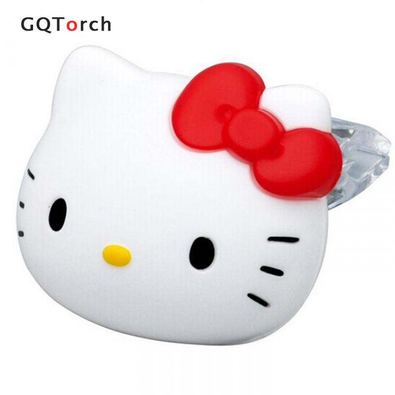 2pcs/pair Cute Hello Kitty Car Accessories Car Air Freshener Perfume Solid State White Musk Scent Car Perfume Fragrance