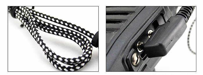 # H30 Hot Sale 2PIN Kualitas Tinggi Earpiece Headset dengan MIC untuk Radio Keamanan Walkie Talkie Fitur # UO