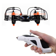New Accelerometer Sensing One-handed Controlled 3D Rolling & 360-degree Flipping Aircraft USB Charging LED Light RC Airplane