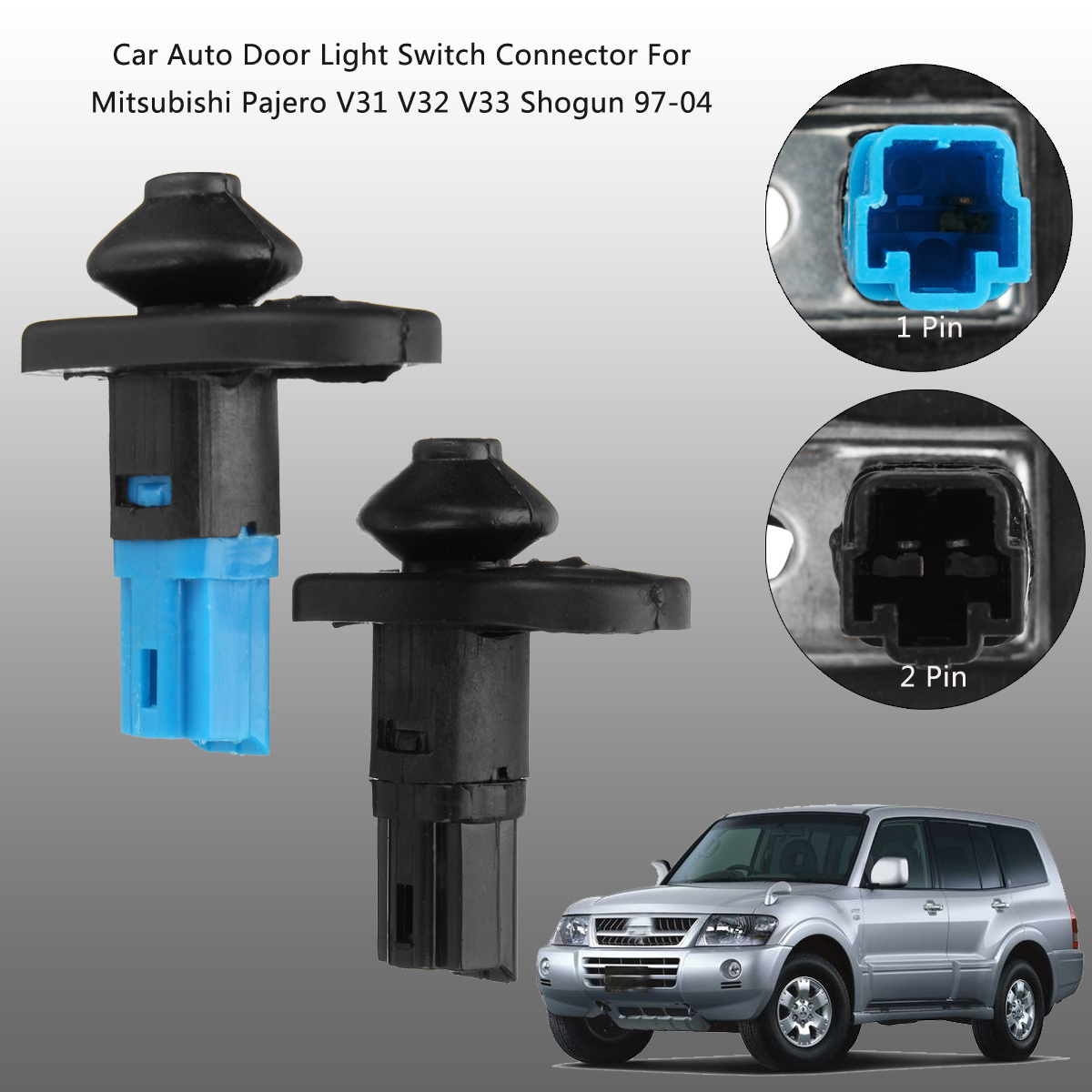 MB698713 / MB861149 Car Auto Door Light Switch for Mitsubishi Pajero V31 V32 V33 Shogun 1997-2004 Mitsubishi Pajero