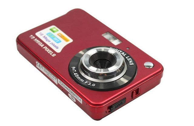 KaRue High Quality Portable 18MP 720P Mini Digital Camera 8x Digital Zoom Photo Frame 2.7 inch Screen 5MP CMOS  Digital Video