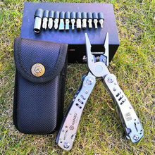 Tool Kit bag Combination Stainless Steel Folding Knife long nose Pliers Ganzo G302H Tungsten Exchangeable Blade Multi Pliers цена