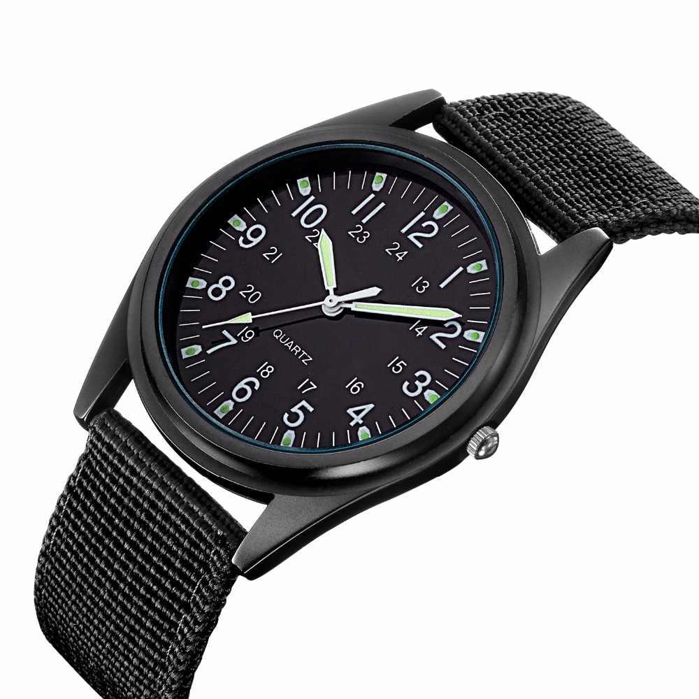 רישום חדש MGORKINA חגורות בד אופנה גברים לצפות מותג יוקרה שעונים קוורץ שעון שעון זול ספורט שעוני יד relogio זכר