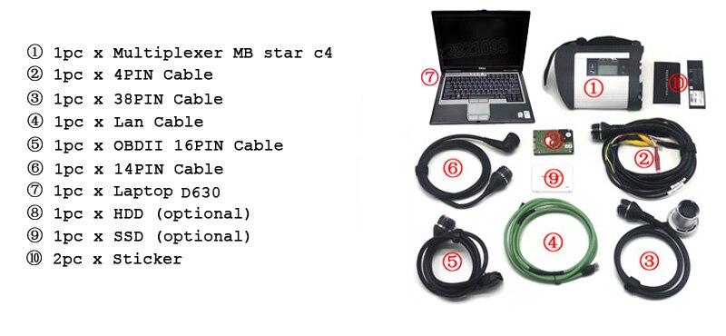 C4 D630 -case