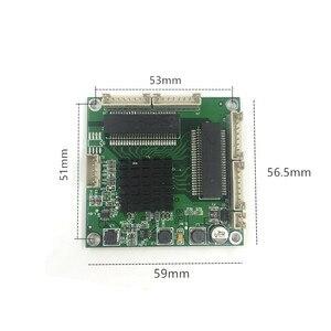 Image 4 - Mini module de transfert 3/4 ports de qualité industrielle commutateur Gigabit 10/100/1000 Mbps haute température mini trois quatre ports switchmodule