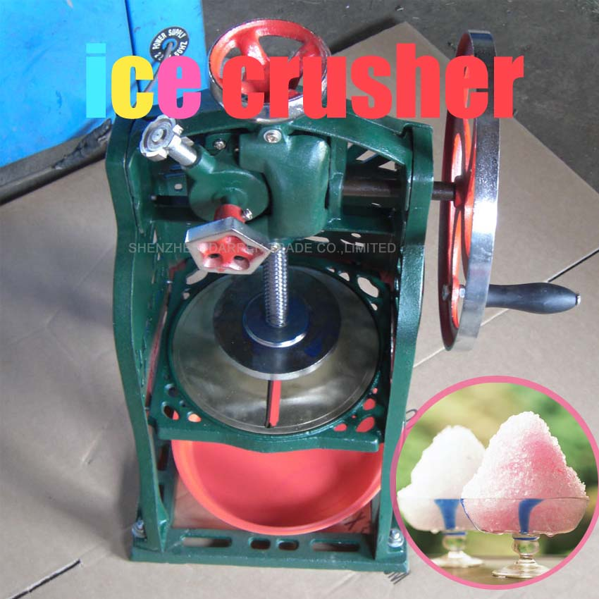 1PC High Quality Manual Household Use Commercial Snow Ice Crusher Ice Machine Ice Maker Professional Practical Machine