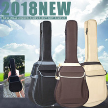 38 39 40 41 Inch Waterproof Folk Acoustic Guitar Bag Pad Cotton Thickening Backpack Soft Case Guitar Gig Bag Accessories стоимость