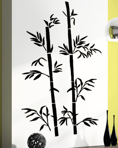 Bamboo Room Decor: 2015 New Fashion Chinese Wall Sticker Bamboo Wall Art Asia