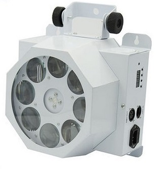 China supplier hot new products 8 eyes led gobo effect light 8pcs*3W CREE LED gobo light for nightculb