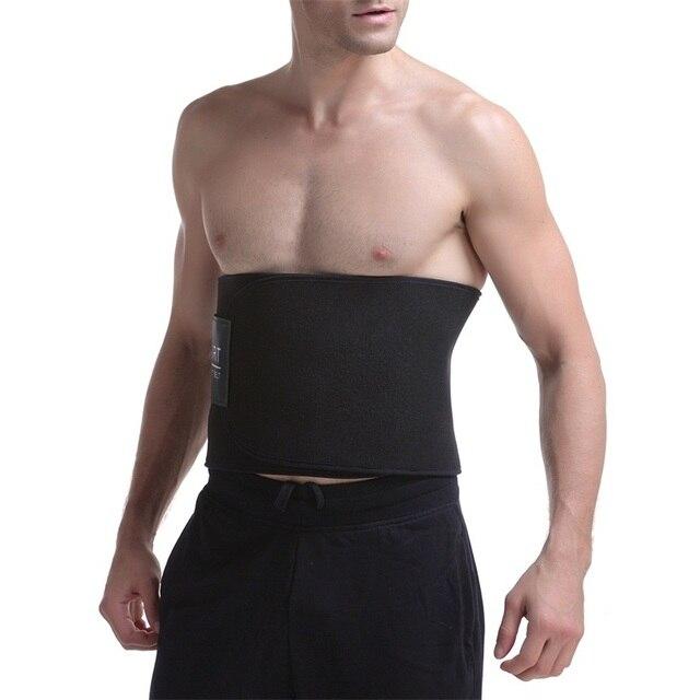 PRAYGER Neoprene Sauna Slimming Waist Cinchers Control Belly Abdomen Shaper Belt Power Body Tummy Trimmer Girdle 2