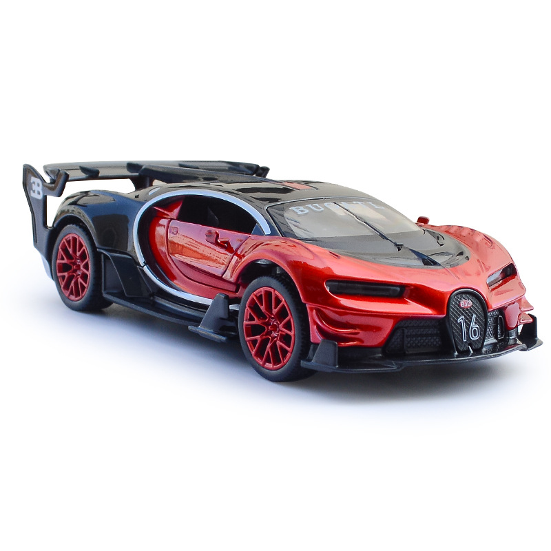 Bugatti Vision Gt: 1:32 Bugatti GT Diecast Car Models Collection Alloy Pull
