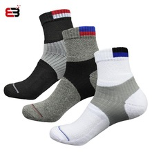 NANCY TINO  Men Sport Socks Thick Towel Long Outdoor Athletic Racing Cycling Running Basketball Tennis Cotton