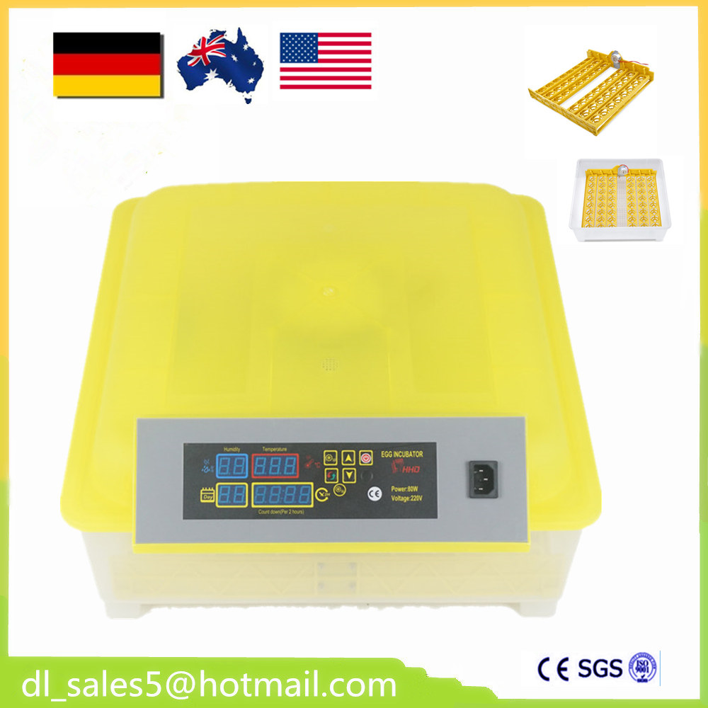 DE UK USA Local shipping  China cheap mini 48  egg incubator hatcher machine for sale high quality best selling mini industrial egg incubator of 48 eggs for sale commercial hatcher incubadora de huevos automatica