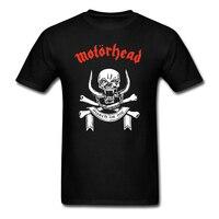 Motörhead männer T-shirt New Fashion Schweres Metall MOTÖRHEAD Rock Band Tops Tees 100% Baumwolle Sommer shirts T-shirts Euro Größe S-3XL