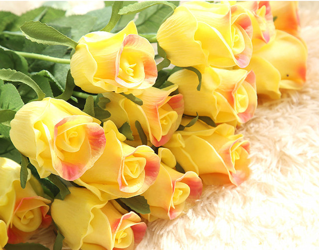 8pcssets artificial flowers silk flowers white latex real touch 8pcssets artificial flowers silk flowers white latex real touch flowers wedding bouquet home party mightylinksfo