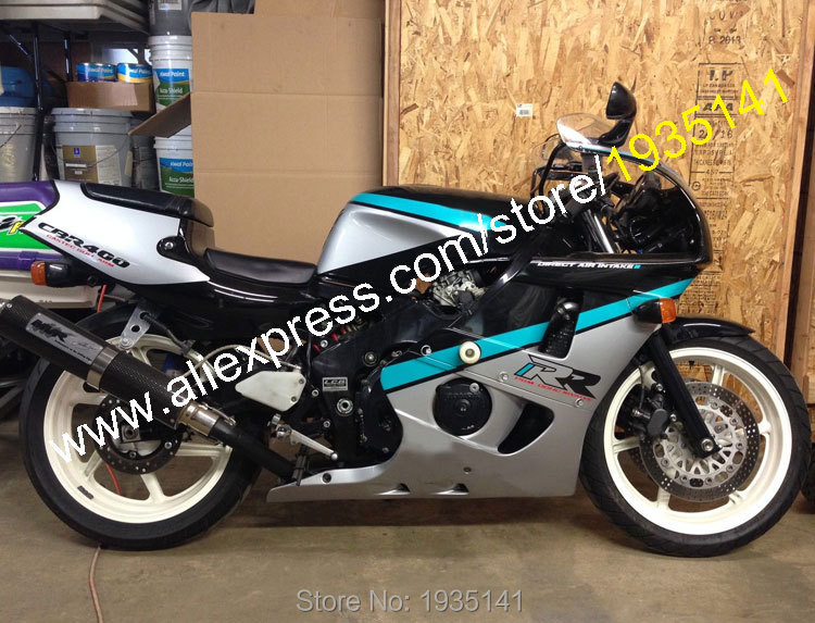 For <font><b>Honda</b></font> CBR400RR NC29 1990-1998 <font><b>CBR</b></font> <font><b>400</b></font> RR 90 91 92 93 94 95 96 97 98 Sportbike <font><b>Cheap</b></font> Aftermarket Motorcycle Fairing image