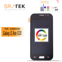 4.3'' SUPER AMOLED For Samsung Galaxy J1 Ace J110 SM J110F J110H J110FM LCD Display Touch Screen Digitizer Replacement