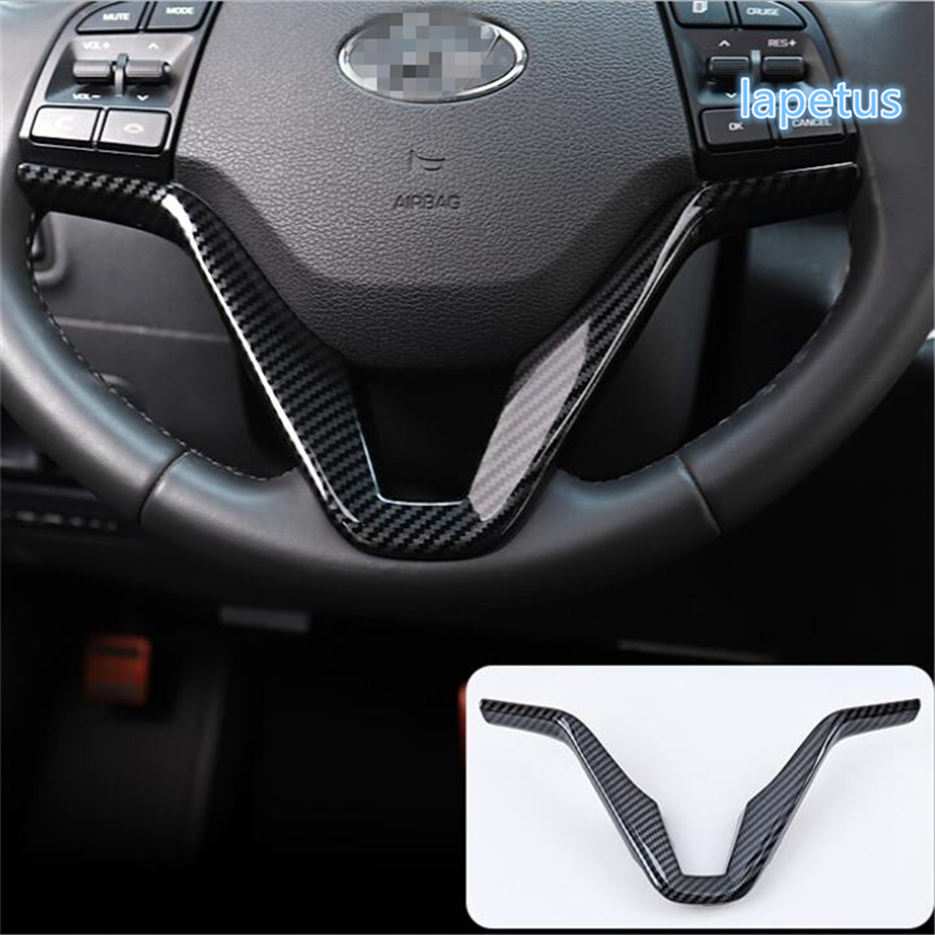 Aliexpress Com Buy Lapetus Accessories Fit For Hyundai: Lapetus 2 Colors Steering Wheel Below Decoration Frame