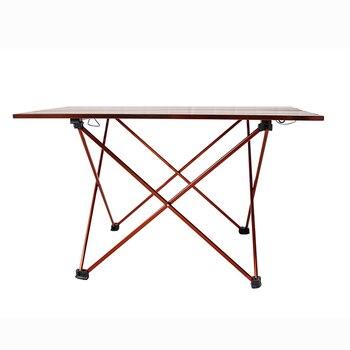 Tragbare Faltbare Klapptisch Schreibtisch Ultraleicht Aluminium Legierung Outdoor Camping Picknick Tisch Schreibtisch Für Camping Angeln Wandern