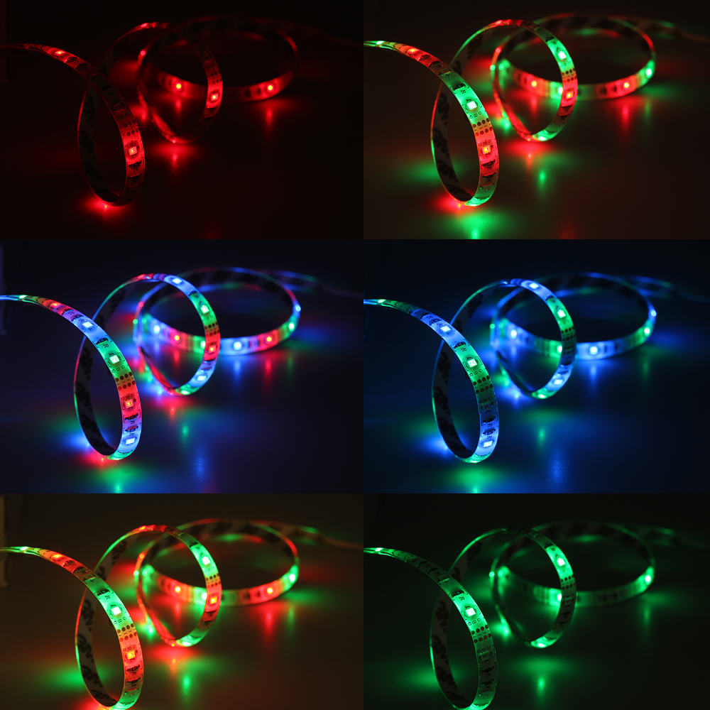 Tiras de Led usb tira conduzida 2835 rgb/branco/branco Color : Rgb / White / Warm White