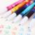 6 pcs/ensemble couleur gel stylo motif étoilé mignon kitty hero roller ball stylos papeterie fournitures scolaires de bureau
