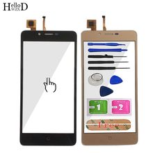 Cellulare Touch Screen Digitizer Per Bravis Ergo B501 Touch Screen del Pannello Frontale di Vetro Sensore di Strumenti Adesivo(China)