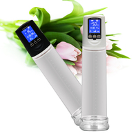 Big screen with Digital Display Electric Beginner Men Dick Vacuum Erection Assisting Device Male Cock Pump Enlarger Enlargement