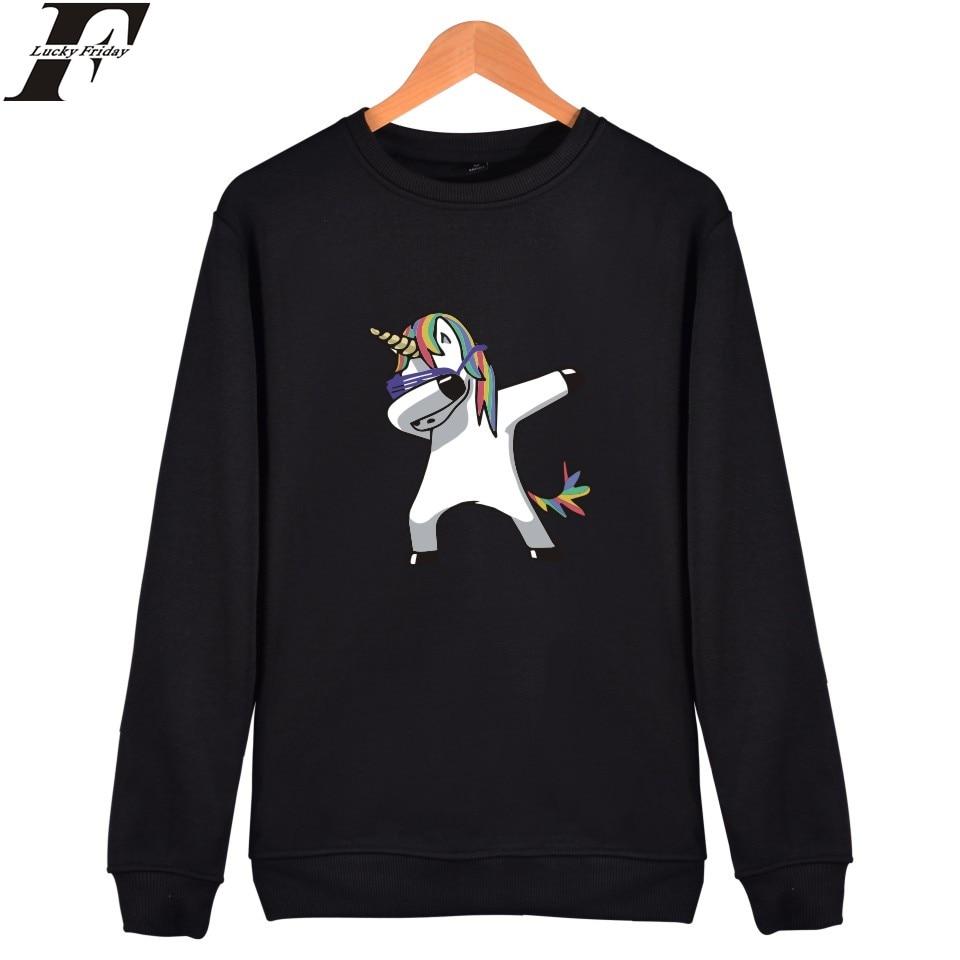 BTS Aminal Printed unicorn hoodies Sweatshirt Women harajuk Hooded Fashion Casual Women/Men Kawaii Cartoon Funny Casual Clothes