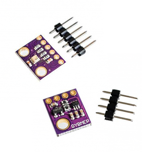3In1 BME280 GY-BME280 Digital Sensor SPI I2C Humidity Temperature And Barometric Pressure Sensor Module 1.8-5V DC High Precision