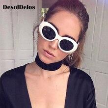 Clout Goggles Glasses Brand Designer Mirror Retro Oval Sunglasses Classic Fashion Female Male Sun for Men Women