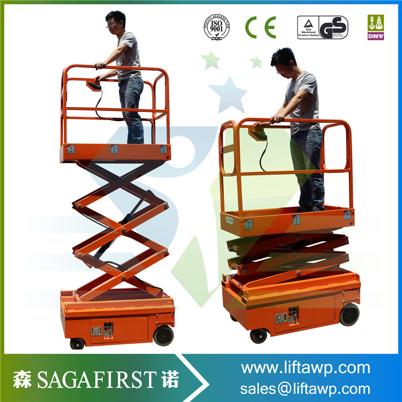 6m Working Height Small Electric Scissor Lift