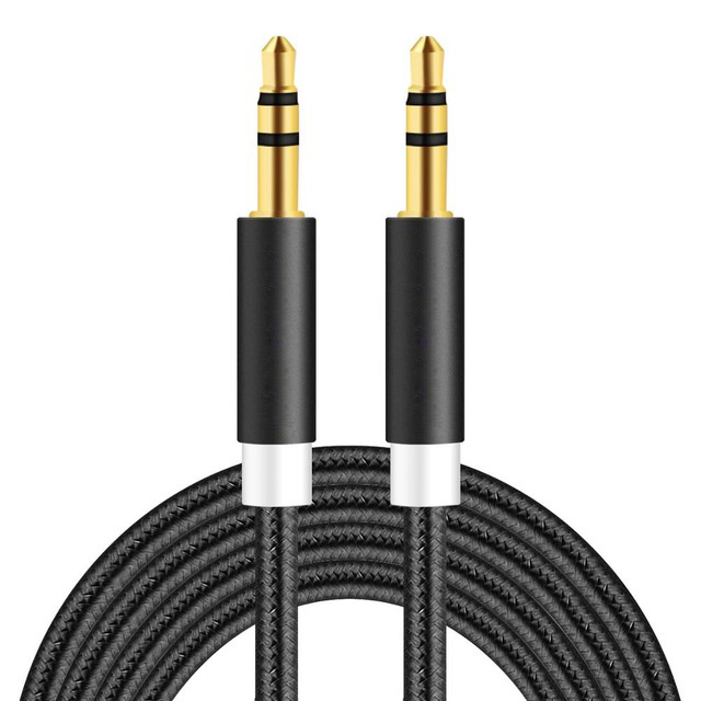 Aux Audio Cable for Huawei P9 P10 3.5mm Jack Plug Lead Cord 2m