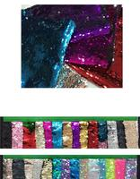 Gradient 5mm Symphony Fish Scales Foil Sequins Beads Embroidery Fabric Pillow stage Costumes Manual DIY Sequins Fabric