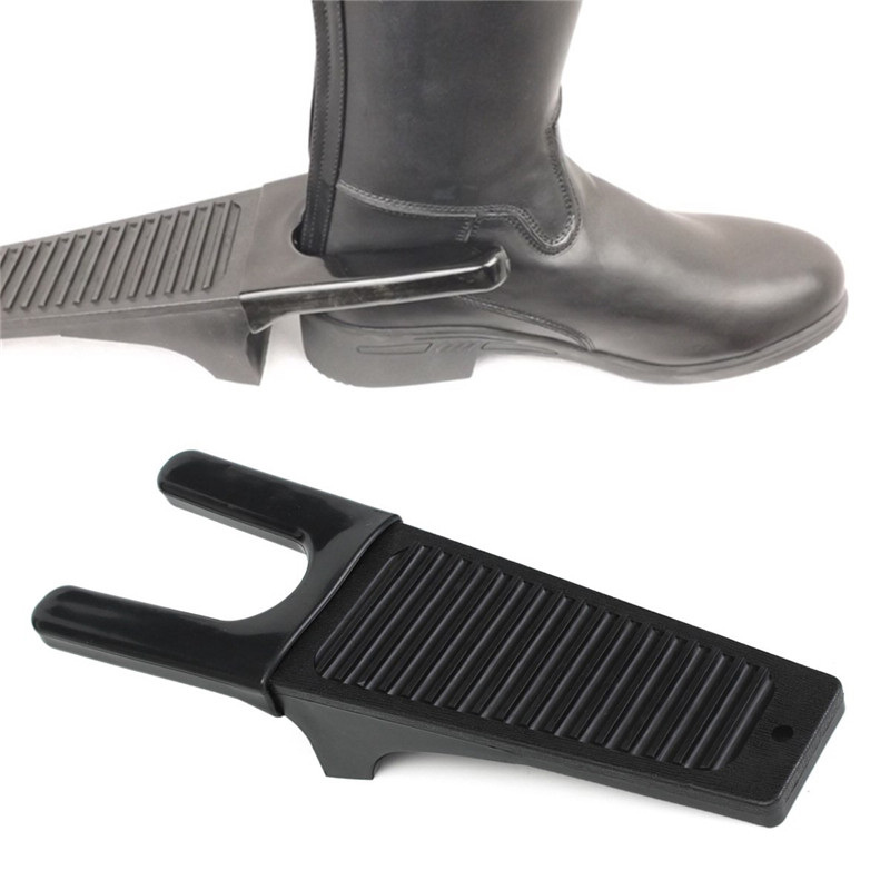 New Plastic Heavy Duty Horse Riding Boot Jack Puller Remover Fits For Wellies Riding Boots Equestrian Supplies Saddleries Black