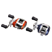 YUMOSHI 12BBs Ball Bearings Left/Right Hand Bait Casting Carp Fishing Reel High Speed Baitcasting Carretilha De Pesca 6.2:1