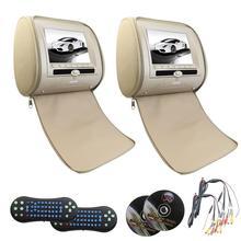 Eincar DVD Headrest Monitor Car Mp5 with USB/SD pillow video music player support TV 32-bit games entertainment FM IR/DVD/CD/MP3