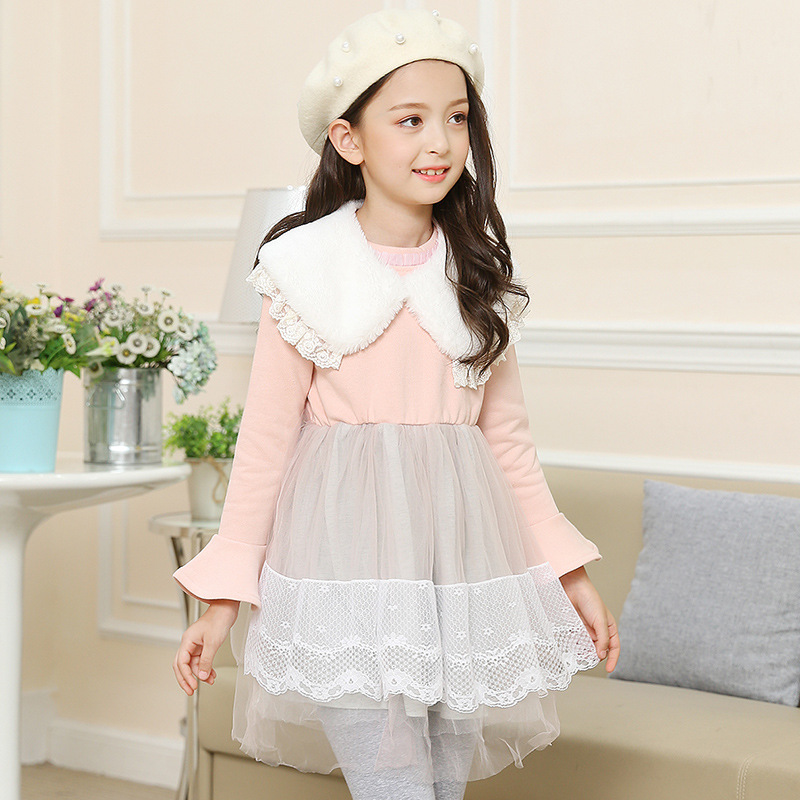 mesh cotton princess girls dresses winter autumn kids clothes pink party teenage baby girl dress long sleeve children clothing monsoon girls dresses summer baby girls clothes kids dresses lemon print princess dress girl party cotton children dress 67