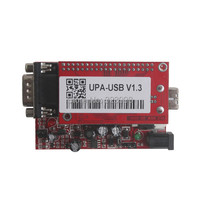 UUSP UPA USB Serial Programmer Full Package V1 3 Red Broad With Full Adaptors