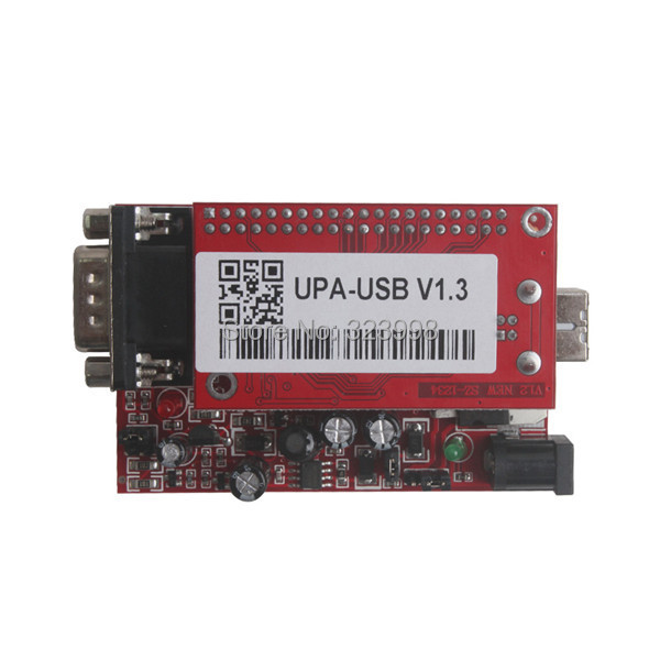 DHL Free UUSP UPA USB Serial Programmer Full Package V1.3 Red Broad with full adaptors ECU chip tunning