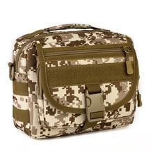 Fishing Bag Outdoor Tacticsl Military Assault Bag Pack fishing rod Small Pockets Man Waterproof Nylon Crossbody Bag Men Handbag