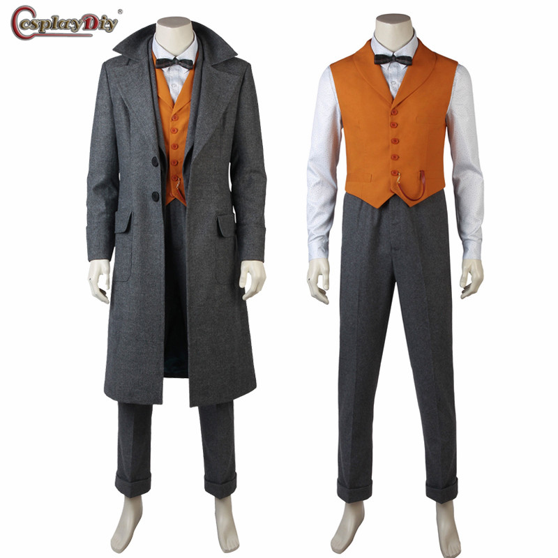 Fantastic Beasts 2 The Crimes of Grindelwald Cosplay Newt