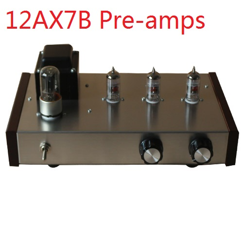 2019 ICAIRN AUDIO 6Z5P+12AX7B*3 Home Audio Tube Pre Amplifier DIY Kits Adopting Marantz M7 Circuit Mounted Version Optional