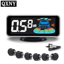 цена на 6/sensors NY606 Car LCD Parking Sensor Kit Display for all cars parking assistance reversing radar
