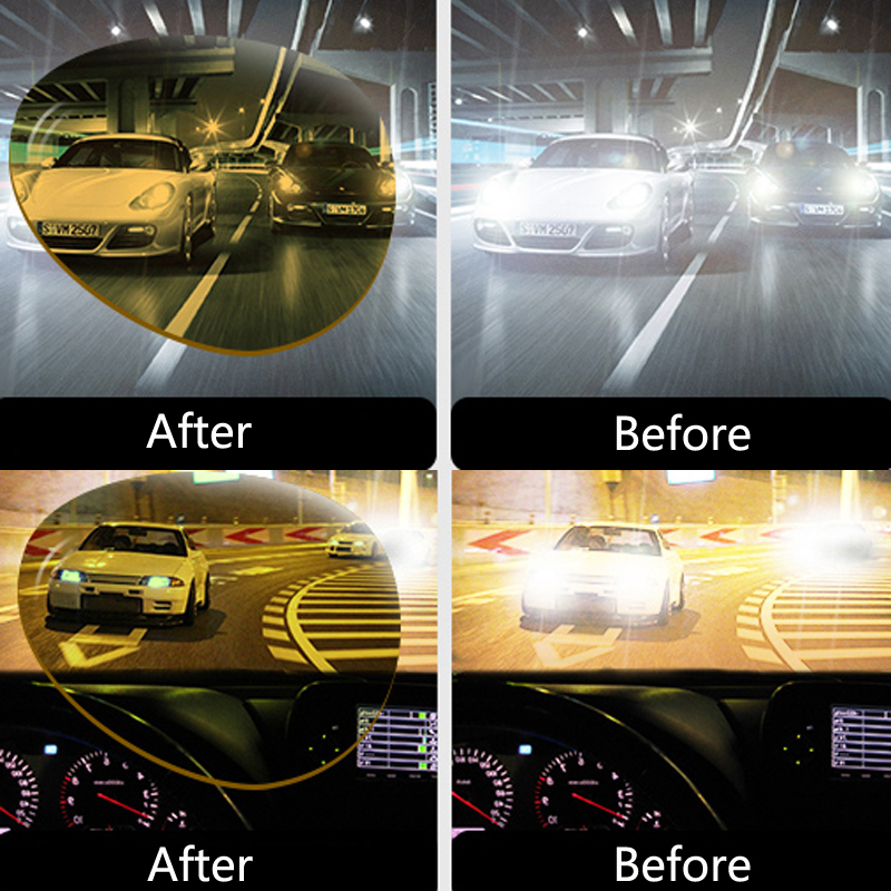 Image 3 - Car Driving Glasses Night Vision Glasses Sunglasses For Mitsubishi Asx Lancer 10 Outlander Pajero Colt Carisma Galant Grandis-in Car Stickers from Automobiles & Motorcycles
