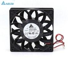 Per delta ffb1212eh 12025 12 centimetri 120 millimetri DC 12v 1.74a 12 centimetri inverter server di ventola di raffreddamento
