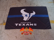 Houston Texans Rugby club flag, Houston Texans black banner,90X150CM polyester flag king