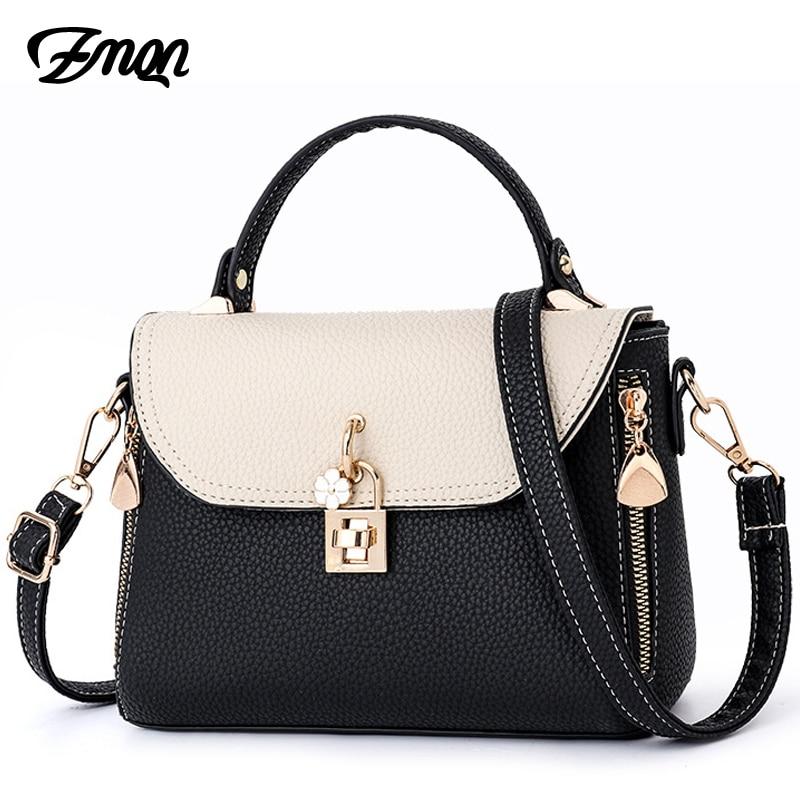 ZMQN Fashion Women Crossbody Bags Shoulder Bags Messenger Desinger Bags Famous Brands Women Bags 2018 Small Falp Lock Bolsa B322