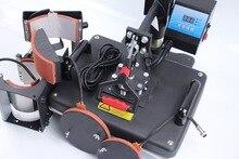 Бесплатная Доставка 5 в 1 Сублимации тепло пресс-передачи машины для печати кружка плиты Футболка DX-305