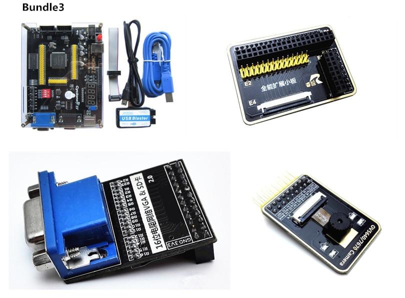 US $29 22 16% OFF ALTERA EP4CE6 FPGA Development Board Altera Cyclone IV  NIOSII EP4CE Board and USB Blaster Programmer-in Integrated Circuits from